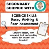 Peer Assessment: Science Essay