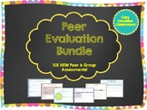 Peer Assessment BUNDLE! No Prep