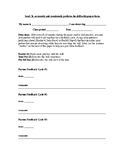 Peer Assessment Feedback and Coaching Form-Very General