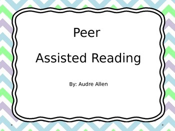 Peer Assisted Reading PowerPoint