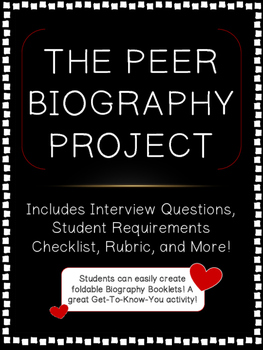 Biography Writing with Peers! {Classmate Interviews & Text Features}