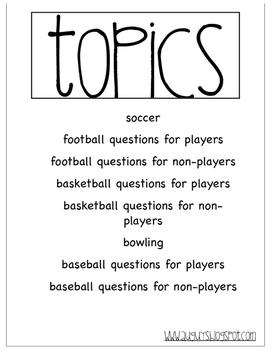 Peer Buddy Communication Books - Sports