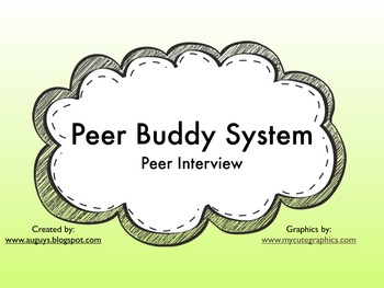 Peer Buddy System: Buddy Interview