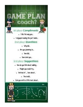 Peer Conferencing (Coaching) Game Plan Card