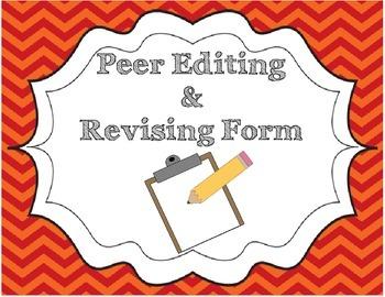 Peer Conferencing/Editing Checklist