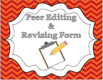 Peer Conferencing/Editing Checklist