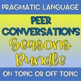 Peer Conversations On or Off Topic Bundle Counseling Autis