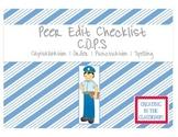Peer Edit Checklist (C.O.P.S)