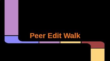 Peer Edit Walk