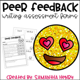 Peer Editing Form for Writing
