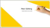 Peer Editing PPT