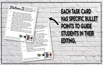 editing stations for social studies essays task cards and posters peer editing stations for social studies essays task cards and posters