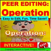 Peer Editing Lesson: Writing PowerPoint