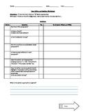 Peer Editing and Revision Argument Worksheet