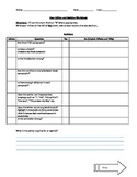 Peer Editing and Revision Argument Worksheet