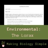 Peer Editing of Lorax Essay
