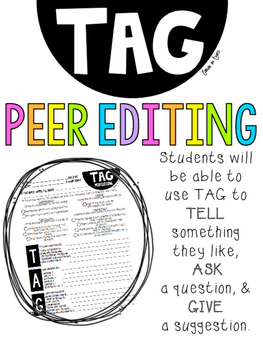 Peer Editing with T.A.G.