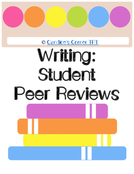 Peer Review Writing Checklist
