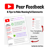 Peer Feedback Commenting Forms
