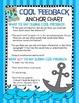 Peer Feedback Poster Anchor Charts- Warm and Cool Feedback