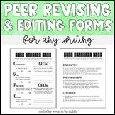 Peer Feedback- Revising & Editing Forms