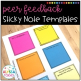 Student Feedback Sticky Notes Templates