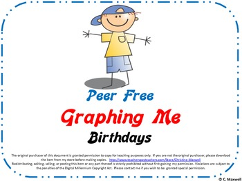 Peer Free Graphing Me-Birthdays