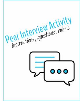 Peer Introduction Speech