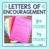Peer Letters of Encouragement Before Testing