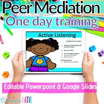 Peer Mediation 1 Day Training
