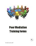 Peer Mediation Training Forms