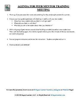 Peer Mentor Program