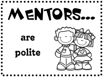Peer Mentoring Poster Rules