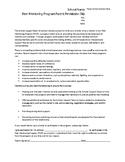 Peer Mentorship Program Template