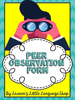 Peer Observation Form