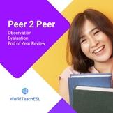 Peer Observation Protocol - Instructional Walkthroughs Col