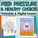 Peer Pressure Lesson (Red Ribbon Week Inspired) - printabl