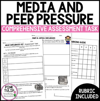 Peer Pressure and Media Influences Health Project/Assessment Task