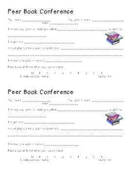 Peer Reading Conference