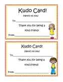 Peer Recognition Awards: Kudo Cards!