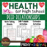 Peer Relationships - Interactive Note-Taking Materials