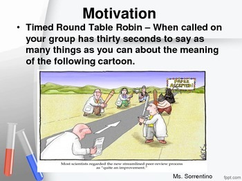 Peer Review Lesson