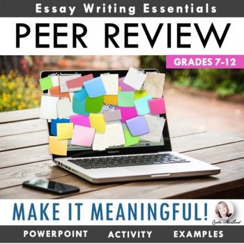 "Peer Review ""Make It Meaningful"" Bundle: Help Writers Learn from Each Other!"