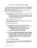 Peer Review Protocols (Creative Writing)