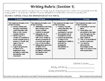 Peer-Review Standardized Writing Rubric