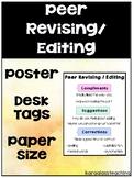 Peer Revising / Editing