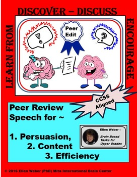 Peer Revision of Speeches