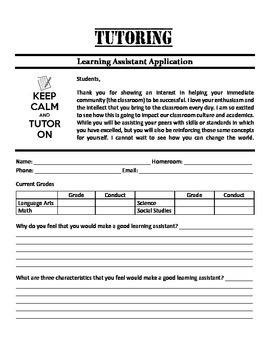 Peer Tutoring Application