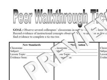 Peer Walkthrough Tic-Tac-Toe