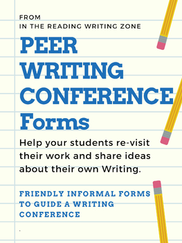 Peer Writing Conference Form
